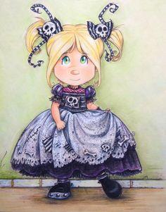 The Little bones girl - fashion girl-Moda Huesitos….by Pilar Agrelo 'studio