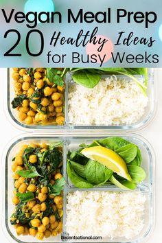 Veggie Meal Plan, Vegan Meal Plans, Easy Meal Prep, Healthy Meal Prep, Healthy Cooking, Healthy Eating, Clean Eating, Healthy Foods, Healthy Fit