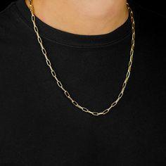 f6e0d8b4954 Corrente Masculina Elo Cartier 60 cm Ouro Amarelo 18k 750 (1 ...