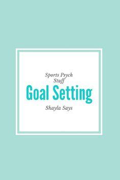 Planning Pt. II: Goal Setting