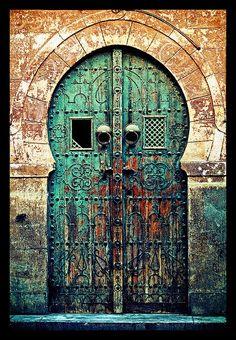 Old Tunisian Door