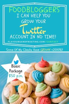 FoodBloggers I can help you grow your Brand on Twitter...
