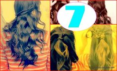 7 Quick & Easy Everyday Hairstyles | Half-up, Half-Down Updo Hairstyles Tutorial for Long Hair and for Medium Hair