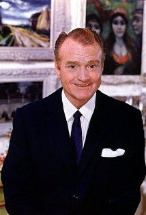 """Red Skelton - """"The Red Skelton Hour"""" (1951) premiered on NBC. For two decades, until 1971, his show consistently stayed in the top twenty, both on NBC and CBS. His numerous characters, including Clem Kaddiddlehopper, George Appleby, and the seagulls Gertrude and Heathcliffe delighted audiences for decades. First and foremost, he considered himself a clown and his paintings of clowns brought in a fortune after he left television."""