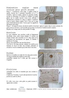 petites choses: Tuto tricot. Scroll down for English version.