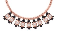 Ted Baker Orah Pearl Droplet Crystal Necklace