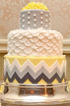 Love chevron? Try this for your wedding, instead...