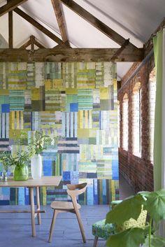 Designers Guild, Colours, Wallpaper, News Design, Squares, Interior, Collection, Website, Home