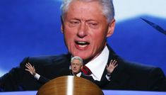 """""""Republican policies quadrupled the national debt in the 12 years before I took office and doubled it in the 8 years after."""" –Bill Clinton #TeamBubba"""