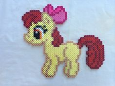 Applebloom Cutie Mark Crusader - My Little Pony Friendship is Magic perler beads by PrettyPixelations