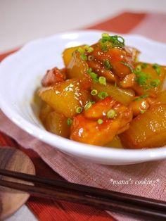 レシピ*鶏肉と大根の照り煮* by manaさん   レシピブログ - 料理 ...