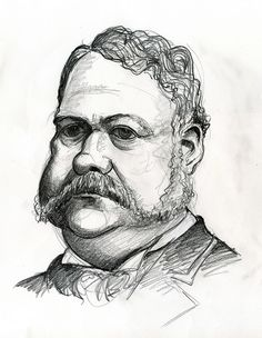 Chester A. Arthur, 21st President of the United States 1881-1885.