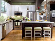 Kitchen Island Designs Luxurious Style