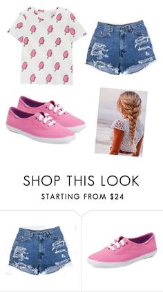"""""""."""" by lovelybeauty98 ❤ liked on Polyvore featuring Keds"""