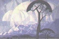 JH Pierneef - Landscape
