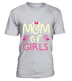 Mom Of Grils Mothers Day T-Shirt
