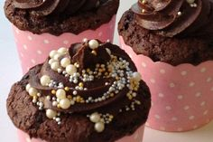 Sjokoladeelskerens cupcakes