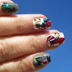 Cowboy Nails! (freestylenails.tumblr.com)