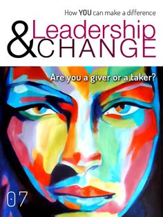 How do you give more while you ACHIEVE more? Make your difference by giving more with Leadership & Change magazine! http://www.leadershipandchangemagazine.com/