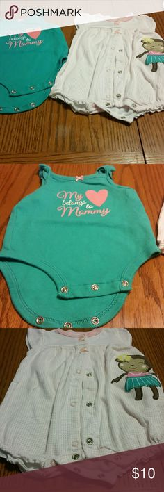 2 carter's onesies 3 months 2 carter's onesies 3 months Carter's One Pieces