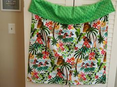 Baby Girl's Hawaiian Cotton & Minky Boutique by BabyGigglesOnline