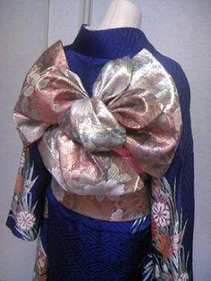 振袖の着付け方 帯の結び方 しゅみのきもの