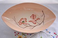 Carlton Ware made in England dish, Australian design. Hand painted embossed Magnolia design.