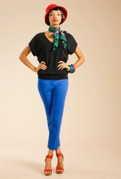 Trina Turk Sims Pant. Available at Monkee's of Morrocroft, (704) 442-7337.