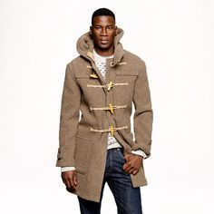 MEN WOOL BLENDED DUFFLE COAT | UNIQLO | $99.90 | Look-Book for a