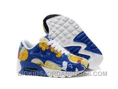 Buy 2015 Nike Air Max 90 Hyperfuse Winnie The Pooh Kids Running Shoes Children Sneakers Shop Online from Reliable 2015 Nike Air Max 90 Hyperfuse Winnie The Pooh Kids Running Shoes Children Sneakers Shop Online suppliers.Find Quality 2015 Nike Air Max 90 H Jordan Shoes For Kids, Kids Running Shoes, Air Jordan Shoes, Kid Shoes, Blue Shoes, New Jordans Shoes, Kids Jordans, Nike Air Max Kinder, Air Max 90 Kids