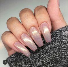 Mermaid fairy dust coffin nails