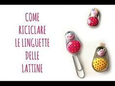 Come fare ciondoli con linguette delle lattine - #tutorial #diy #bijoux