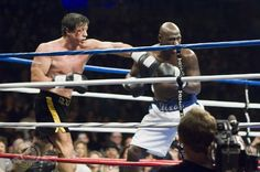 """""""Rocky Balboa"""" with Sylvester Stallone and Antonio Taver Rocky Balboa 2006, Rocky Balboa Movie, Rocky Film, Eye Of The Tiger, Rocky Stallone, Rocky Sylvester Stallone, Rocky Poster, Rocky Series, Floyd Mayweather"""