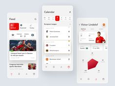 Sports News App by Sergey Sivukhin 👾 on Dribbble William Higinbotham developed an analogue Ui Design Mobile, App Ui Design, Interface Design, Dashboard Design, Design Design, Graphic Design, Android Design, Mobile News, Mobile App Ui