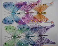 厂家供应手工蜻蜓 蝴蝶产品 丝袜蝴蝶3