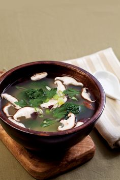 Sweet Potato Soup with Miso and Ginger