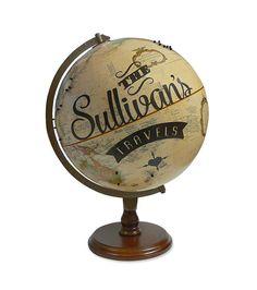 Custom Travels Pushpin Globe by wendygold on Etsy