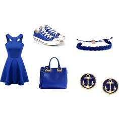 cute for me by queenbri23 on Polyvore featuring Converse, Sophie Hulme, Brooks Brothers and Domo Beads