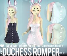 [LCKY] Kemono Duchess Romper