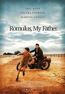 If you haven't seen Romulus, My Father, you are missing out. Amazing film. It won the AFI Award for Best Film, Best Lead Actor (Eric Bana), Best Supporting Actor (Marton Csokas), and Young Actor's Award (Kodi Smit-McPhee) in 2007. So, you can take their word for it, not mine, if you like...