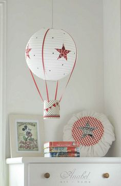 Cómo hacer una lámpara globo