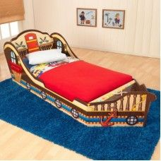 Toddler Beds: Pirate Toddler Bed