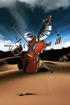 Cool Wallpaper Violin Music