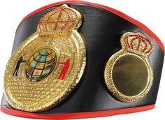 TRIPLE CROWNS OF A CHAMPION TITLE BELT boxing muay thai kickboxing winners award #TITLEBoxing