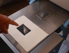 Mikio Watanabe: plate and print on the press