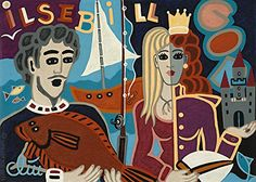 Jacqueline Ditt - Ilsebill the Fisherman's Wife (Ilsebill die Frau des Fischers) - universal arts Galerie Studio - Grafik Druck Kunstdruck nach Gemälde universal arts Galerie Studio edition http://www.amazon.de/dp/B0179WBQY0/ref=cm_sw_r_pi_dp_mMqmwb0MDZ4P3