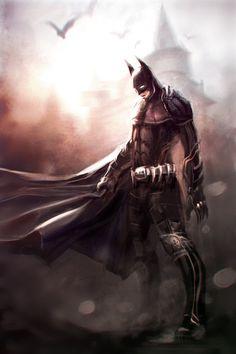 Batman // by Paul Farquhar.    Okay, Okay, I like Batman. What's wrong with that? Lol.