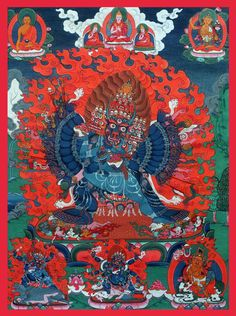 Yamantaka, Tibetan Buddhism.