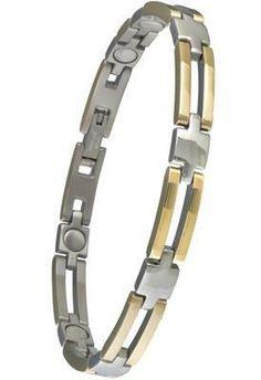 Day 1 Offer - Ladies Executive Slim Bar Duet Bracelet - #329 - Was £54.08 Now slashed to £24.34  www.sabona.co.uk/ladies-executive-slim-bar-duet-bracelet-329-c2x20612594