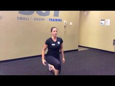 Three Bodyweight Exercises for a Quick Workout - Cooper Fitness Center Professional Fitness Trainer Stephanie Hill demonstrates a lunge/squat sequence, push-up and burpee circuit that can be performed in a short amount of time and without any equipment.